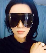 140 ewjjjt Fan Ye, the same explosion models sunglasses star with Siamese sunglasses polarized sunglasses glasses men and women