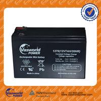 wholesale price vrla lead acid agm solar gel deep cycle storage ups rechargeable battery 12v 7ah