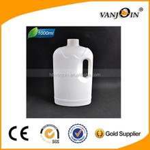 1000ml empty white plastic laundry detergent bottle wholesale