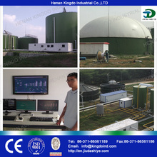 Popular gallinaza biogás generador de energía