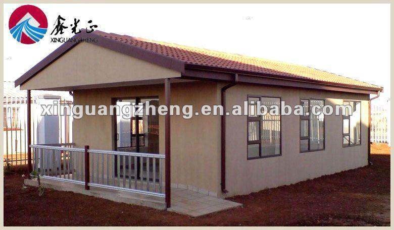 Acero ligero casa prefabricada - Casas de panel sandwich ...