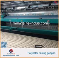 for Coal Mine PET mining geo grid with Fire resistant