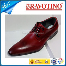 lastest Italy fashion 2015 new style men's leather dress shoes