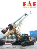 Foundation work FAR270 Hydraulic Rotary Drilling Rig