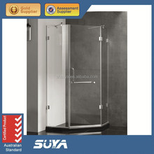 Simple corner diamond shaped shower enclosure / shower compartment with low price