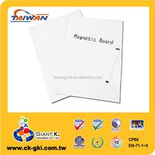 High quality flexible portable writing folding magnetic fridge whiteboard