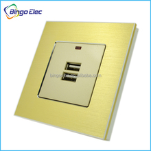 euro usb wall socket 220v