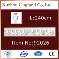 pu gypsum and cornice moulding for house decor