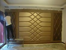 2015 hot sale soft bag wallpaper faux leather sofa tv backgroundLuxury Wallpaper 3d Palace Classic tv sofa background