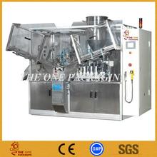 2014 fábrica de shanghai nuevo producto totalmente automtic tubo de llenado y sellado de la máquina