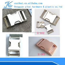 High quality Side Release Buckles metal side release buckle sliding metal buckles