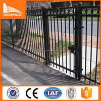 Factory supply cheap prefab fence panels / decorative cheap prefab fence panels for sale