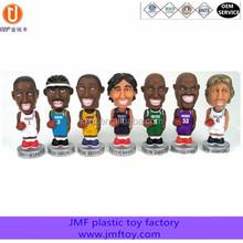 custom football star plastic pvc action figure toys , custom action figure toys manufacture, custom football star figures a set