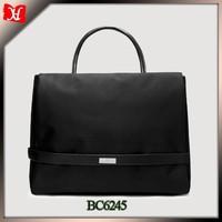 fashion lady laptop bag woman laptop computer bag nylon briefcase tote bag