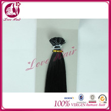 Beauty origin brazilian i tip black hair beijing hair color #1 i tip i tip hair companies in china