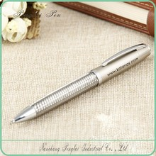 2015 high quality name branded woven metal graphic design luxury writing pen