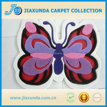 Butterfly design hand tufted acrylic kids rug with best price