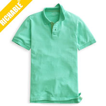 Factory custom made high quality mens cheap polo t shirt