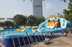 commercial giant inflatable water park, water games inflatable