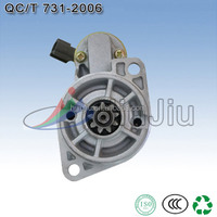 HeBei JIUJIU supply high quality auto car starter for N ISSAN with 9T CW 12V 1.2KW lester:18973