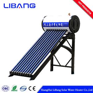 Deft design de plástico da tubulação de calor aquecedor solar de água coletores