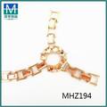 2015 enfeite sapato feito à mão e jóias acessórios sapato de cristal para apartamentos sapato MHZ194