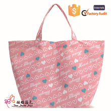 2015 new design reusable shopping bag high quality promotion shopping bag