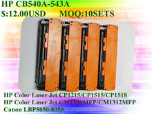 color toner cartridge CE320A CE321A CE322A CE323A for CP1525n CP1525nw CM1415fnw