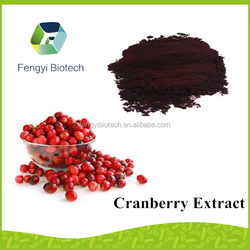 china manufacturer supply GMP approved pharmaceutical raw material cranberry extract f