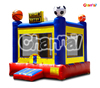 2015 Popular PVC Inflatable Blue Scoreboard Bounce Castle for Baby