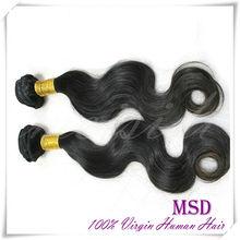 Chinese Website AAAAA Body Wave Virgin Human Hair Weft Xuchang Hair Product