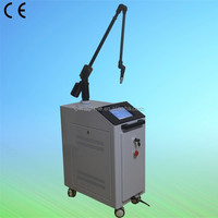 2014 Latest technology tattoo removal q switched nd yag laser eye pigment removal