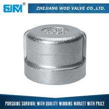 Standard Female Round Threaded Stainless Steel Pipe End Cap