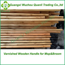 Varnished Wooden Ground Stick with eucalyptus wood