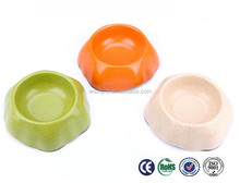Novetly creative bamboo flour pet bowls for small animals
