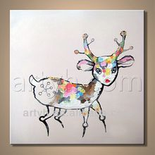 Wholesale New Style Animal Painting For Living Room