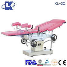 manual medical operation table ce passed stainless steel gynecological bed hospital operating table parts
