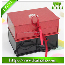 Premium special paper double layer slide open box gift