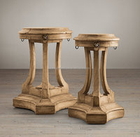 vintaged furniture/ French style furniture wooden bar stools