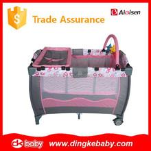 baby playpen made in china,portable baby play pen,out door baby bed playpen DKP2015270