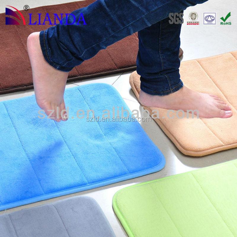 Promotional Custom Memory Foam Color Changing Waterproof Anti Slip Kitchen Floor Mat Buy