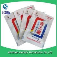 small plastic slide zip bag for fertilizer packing