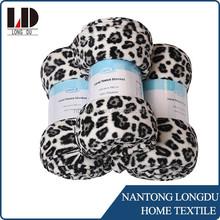 print coral fleece blanket