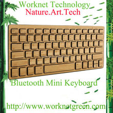 for samsung galaxy 5s bamboo bluetooth keyboard in natural color