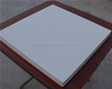 white PVC 60x60 gypsum ceiling tiles