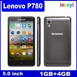 Original Lenovo P780 phone 5.0 inch MTK6589 Quad Core 1.2GHz 8.0MP Bluetooth WIFI GPS 4000mAh multi-language