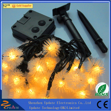 Christmas Decoration Light String New Arrival Waterproof Ball Solar Christmas Light With CE ROHS Passed