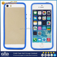 Transparent PC+TPU Case For iPhone 5S Frame Back Cover