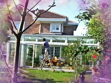 Excellent Combination Aluminum Winter Garden