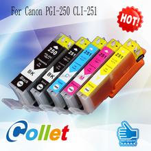Hot products Compatible ink cartridge PGI-250 PGI-650 PGI-550 for Canon ink cartridge